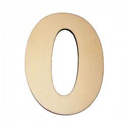 Domové číslo popisné DREVO č.0