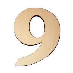 Domové číslo popisné DREVO č.9