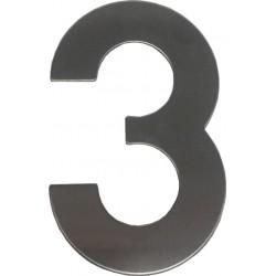 """číslo """"3"""" 145mm nerez"""