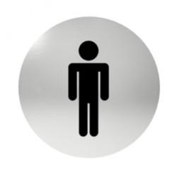 Označenie dverí samolepiace - WC páni