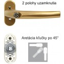 Univerzálna klučka na okno s uzamykaním RHW009 F4