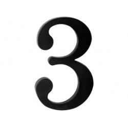 "domove číslo 180mm čierne ""3"""