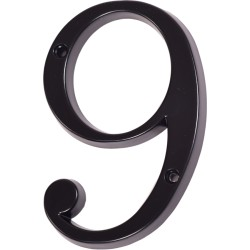 "Číslo "" 9 "" čierne 100mm"