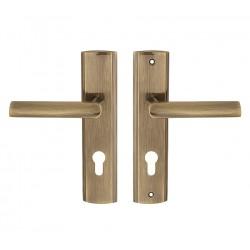 MIRO vchodová kľučka bronz 72mm ľavá VMIPL