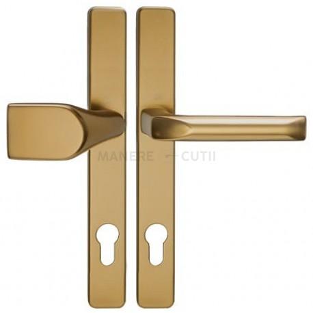 Hoppe LONDON 30mm kľučka-madlo F4 bronz