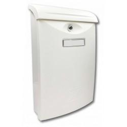 ABS 3 biela poštová schránka plast