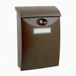 ABS hnedá poštová schránka plast