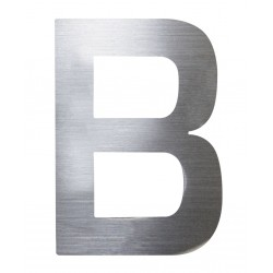 "Písmeno ""B"" 75mm nerez"