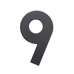 """RN.75L číslo """"0"""" 75 mm čierné matné"""