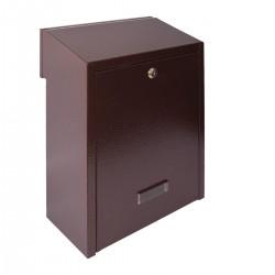 W3 - 1 poštová schránka medený antik