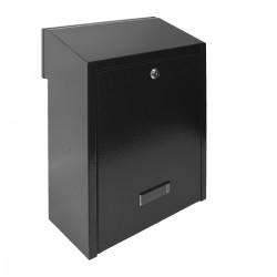 W3 - 1 poštová schránka čierna