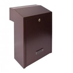 W3 - 2 poštová schránka medený antik