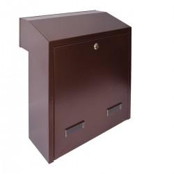 W3 - 4 poštová schránka medený antik