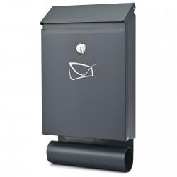 D3687 cutie poștală antracit